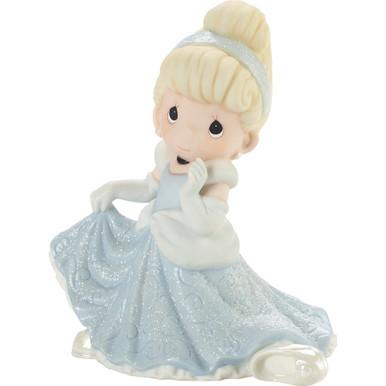 Disney Showcase Collection Bisque Porcelain Figurine, Don't Let The Magic Slip Away Cinderella