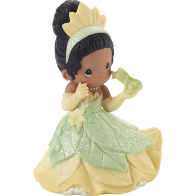 Disney Showcase Collection Bisque Porcelain Figurine, You Make My Heart Leap Tiana