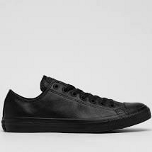 CONVERSE 135253 LOW LEATHER BLACK
