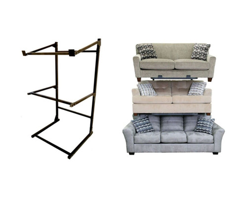 3 Tier Tilted Top Sofa Display (assembly required)