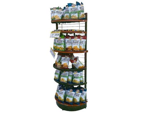 Curved Shelf Display Racks