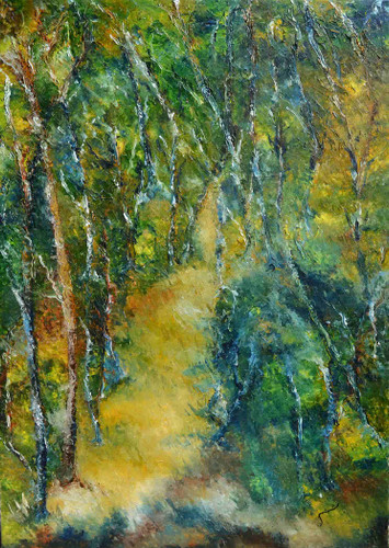 subtle nuances of Mother Nature ll- oil on Canvas painting- Buy art- Artswel online art gallery