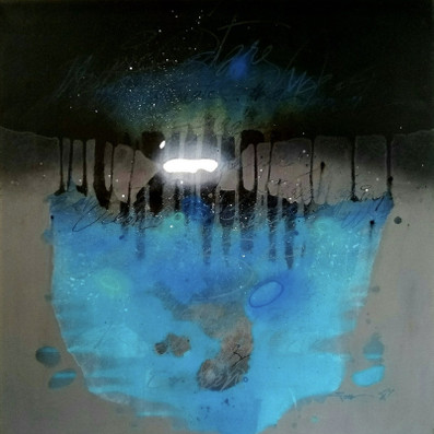 Dreamscape abstract painting from artswel art gallery