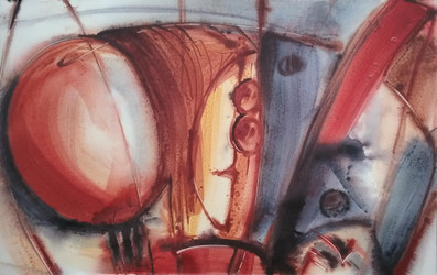 Just As 02, Acrylic on paper buy art and painting from artswel artgallery