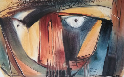 Just As 03, Acrylic on paper buy art and painting from artswel artgallery