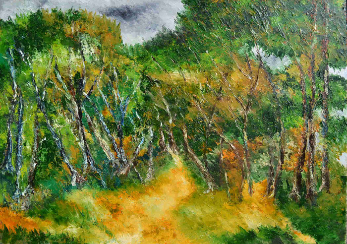 subtle nuances of Mother Nature-Acrylic on Canvas painting- Buy art- Artswel online art gallery