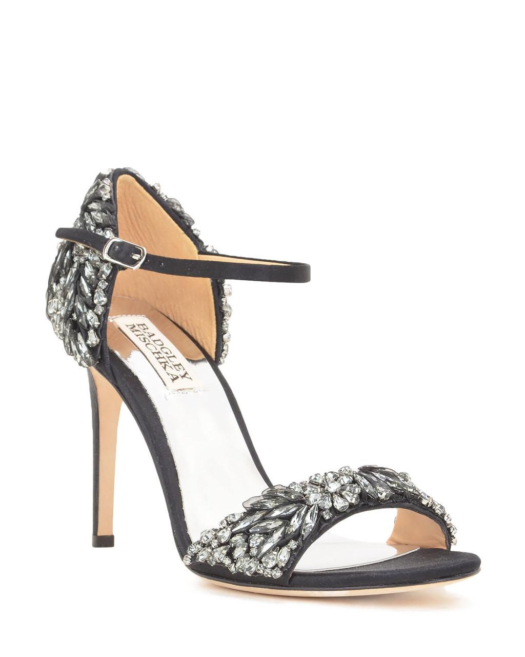 Tampa Embellished Heel Evening Shoe By Badgley Mischka