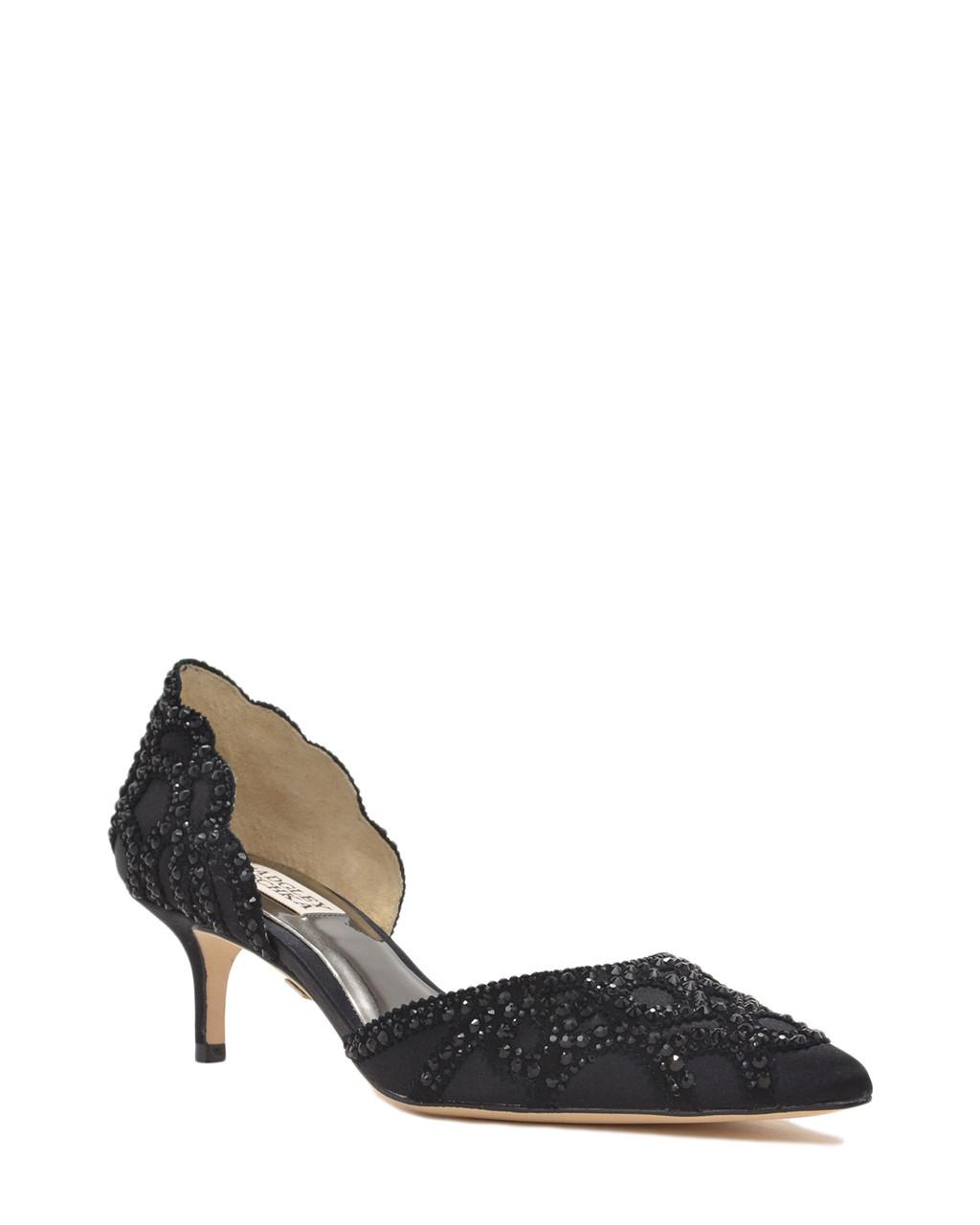 369dd27fbd Ginny Pointed Toe D'Orsay Evening Shoe by Badgley Mischka