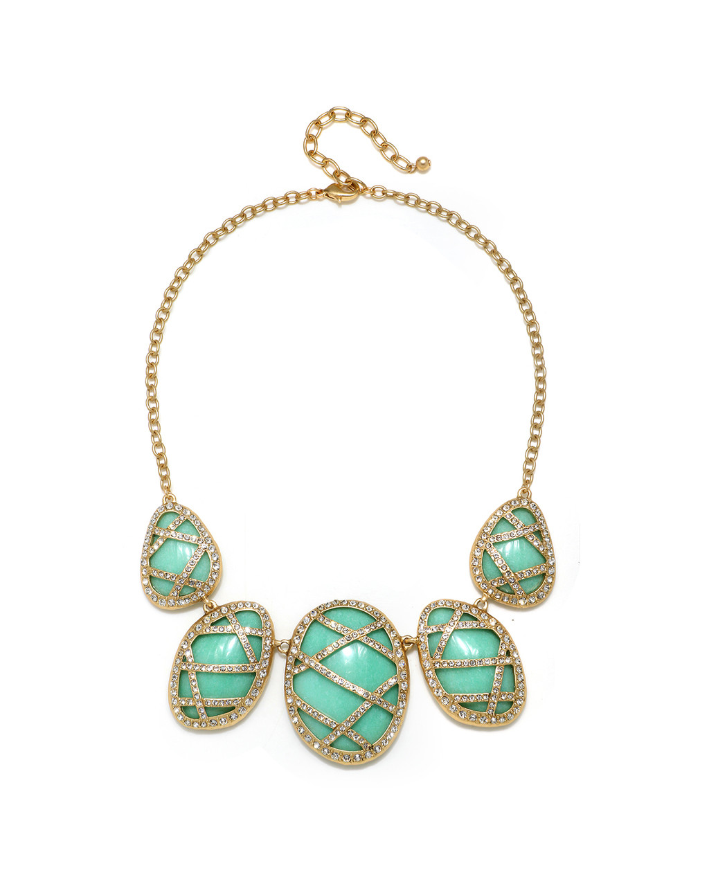 32e9bcde04aca Jade and Crystal Necklace