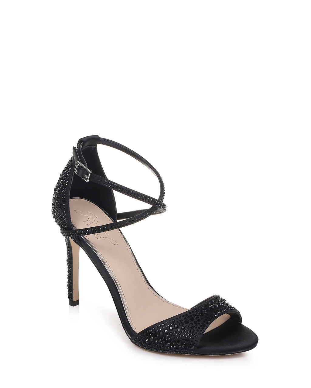 Dillon Strappy Embellished Evening Shoe from Jewel by Badgley Mischka