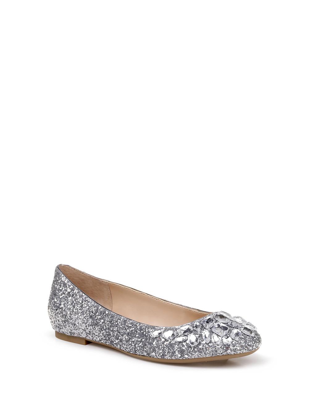 b9c02d2d68 Mathilda Glitter Ballet Flat from Jewel by Badgley Mischka