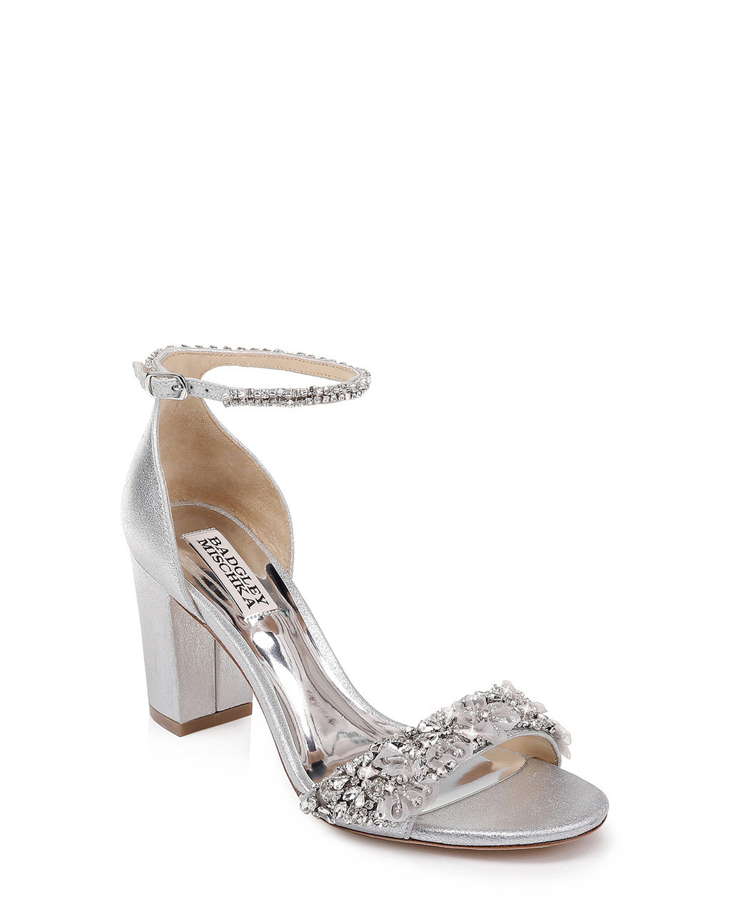 3ba2f2307 Finesse II Ankle Strap Evening Shoe by Badgley Mischka