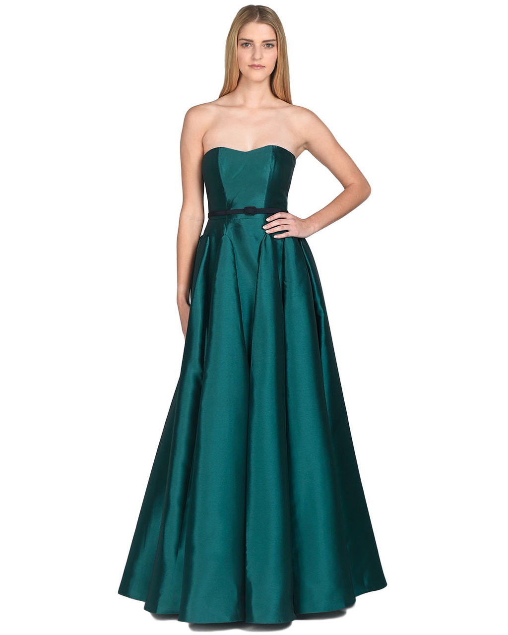 ae633295f0e0 Strapless Evening Dress