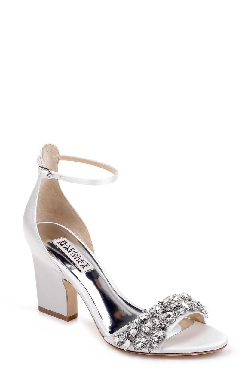 a20ae62712 Laraine Crystal Embellished Evening Shoe by Badgley Mischka