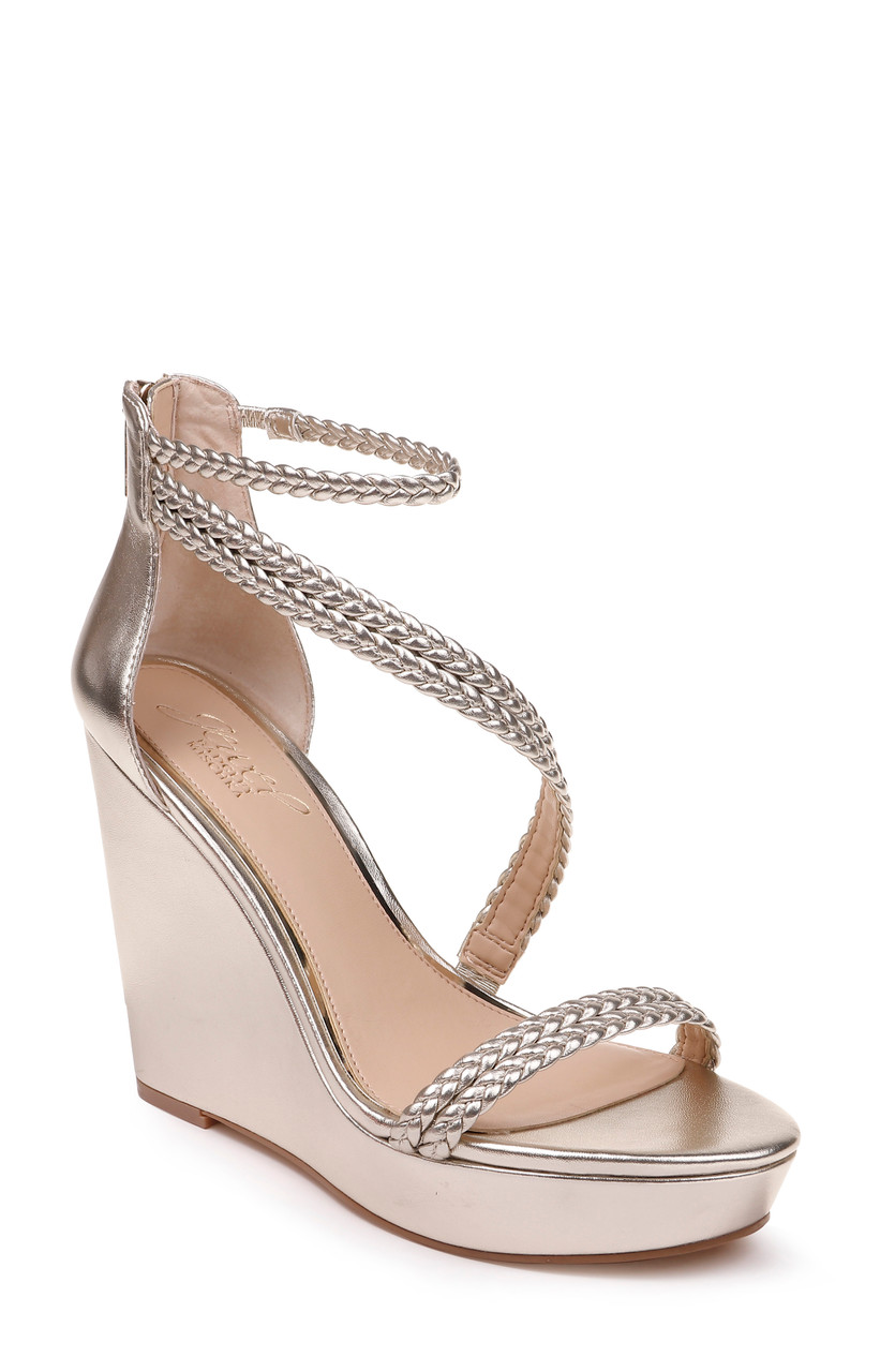 Suzy Strappy Evening Wedge from Jewel