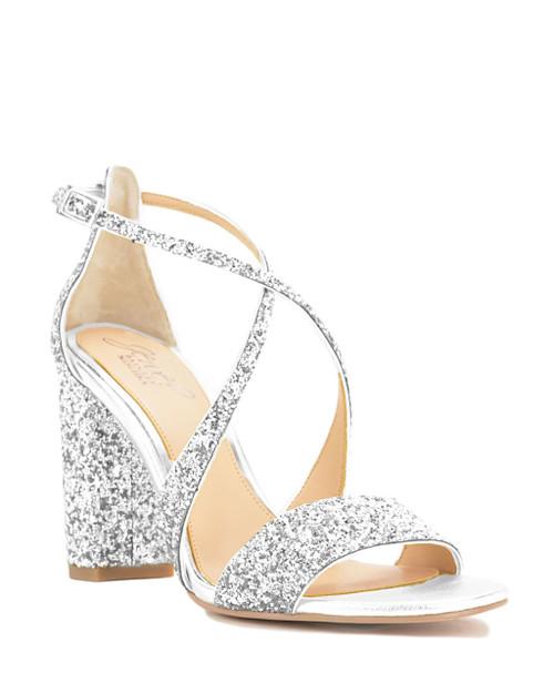 Cook Metallic Glitter Evening Shoe from