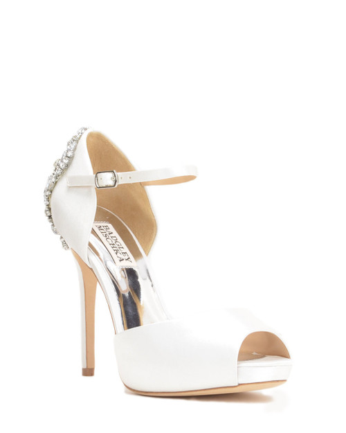 adb6a7839c5 Mica Peep Toe Evening Shoe from Jewel by Badgley Mischka