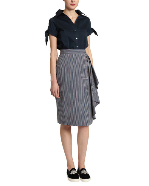 86c0b8004 Stretch Pencil Skirt by Badgley Mischka