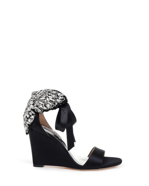 a56a5ff6edc Heather Embellished Wedge Evening Shoe