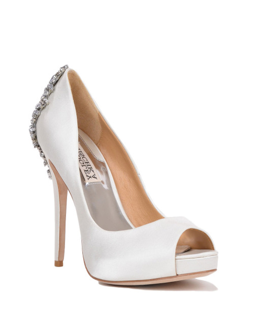 2c418099f Kiara Embellished Peep-toe Pump by Badgley Mischka