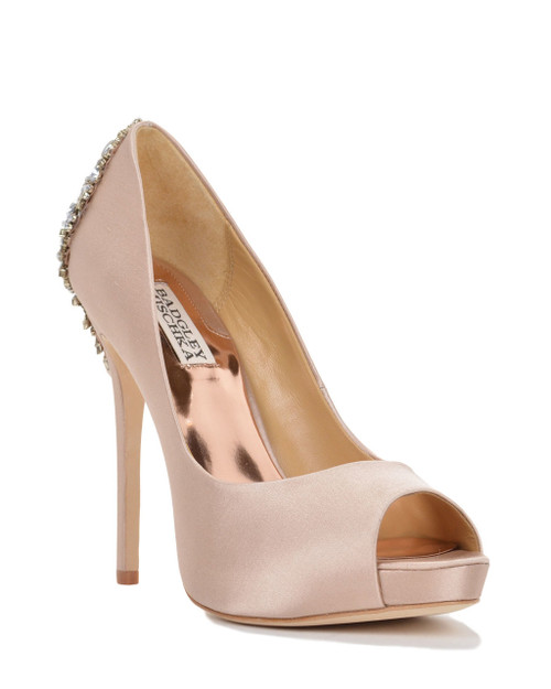 3feb06f67223 Kiara Embellished Peep-toe Pump by Badgley Mischka