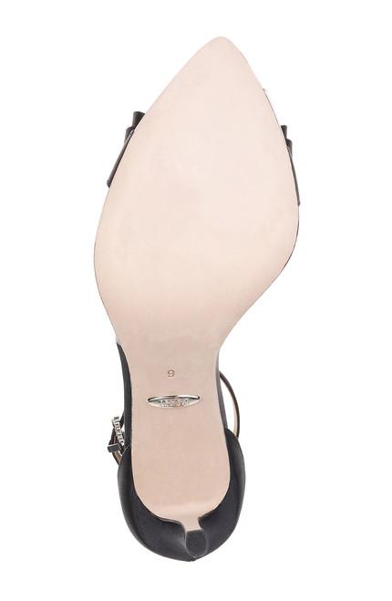 6af2bf3d67 ... Black Clear Lindsay Bow Embellished Evening Shoe ...