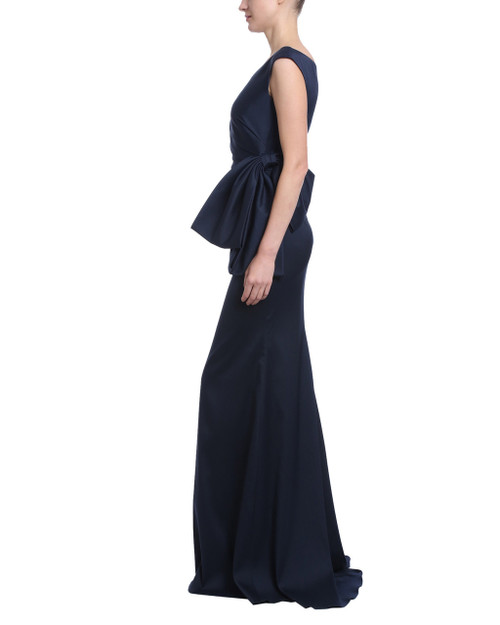 8bc493ecbe One Shoulder Gown by Badgley Mischka