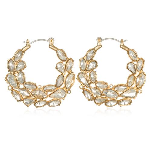 dd1ef6992a0d9 Bamboo Hoop Earrings from Belle by Badgley Mischka