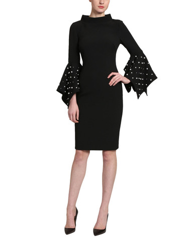 8dfd7c4f Pearl Sleeve Cocktail by Badgley Mischka