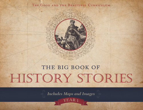 Pre K-8: History Course Set: Big Book of History Stories (PDF): Year 1