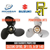 Product Spotlight : Our Favorite Propellers for Suzuki DF90, DF115, & DF140