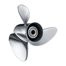 14.75x17 RH OEM 3 Blade Volvo Penta SX Stainless Steel Propeller (3862462)