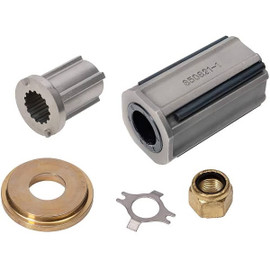 "Quicksilver Flo-Torq II Hub Kit - 835258Q1  3-7/8"" Solid Hub (Choppers, Cleavers, ET Lightning)"