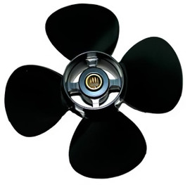 10X5RH Quicksilver Black Diamond 4 Blade Propeller (QA2178R)