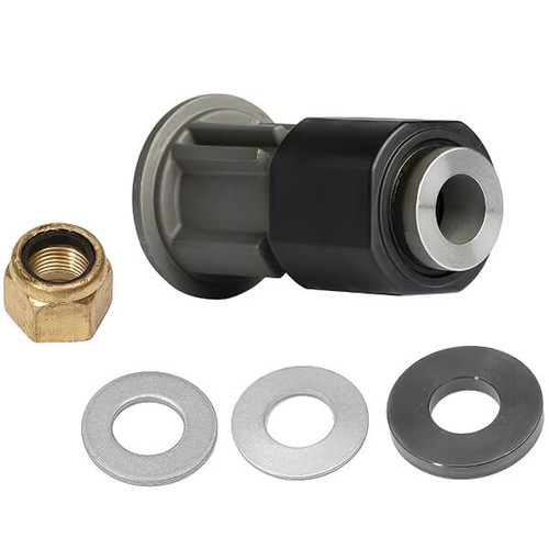 "Quicksilver Flo-Torq SSR HD Solid Hub Kit - 8M0101603 (Mercury Heavy Duty 1.25"" Prop Shaft) 19 Splines"