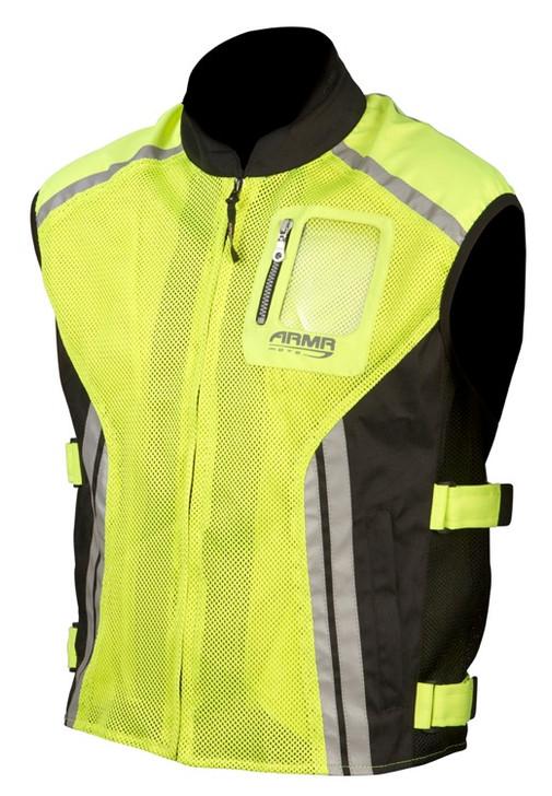 ARMR Moto Hi-vis Reflective Vest