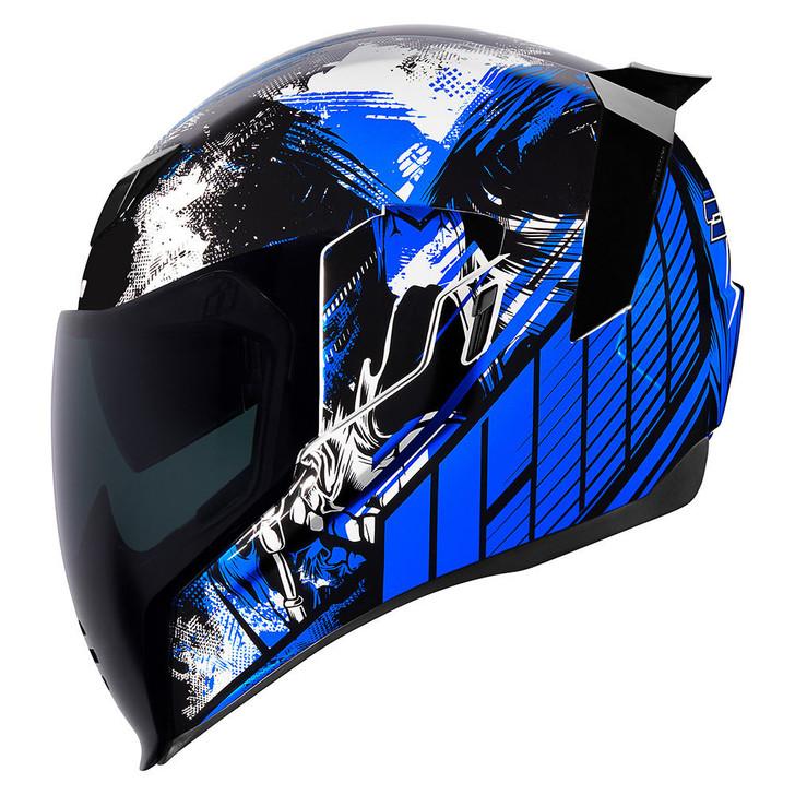 Icon Airflite Stim Helmet - Blue