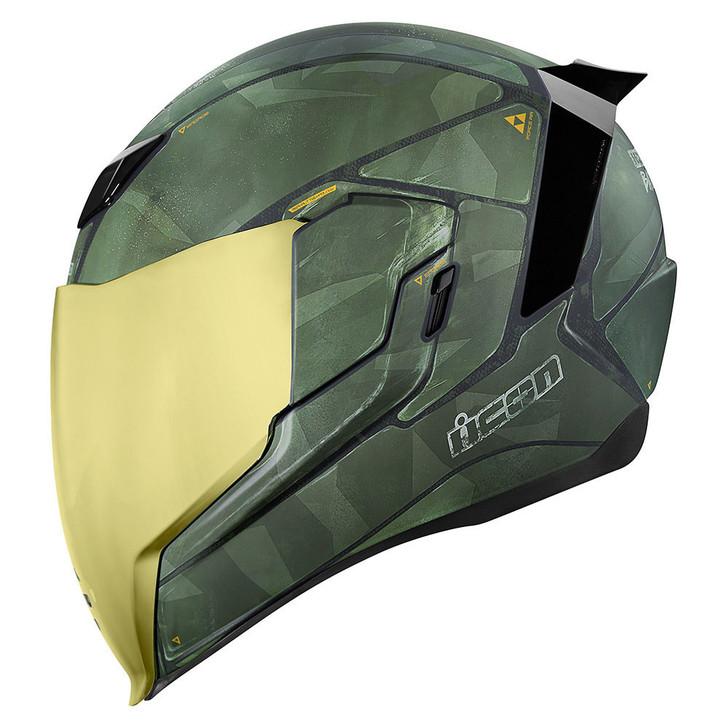 Icon Airflite Battlescar 2 Helmet - Green
