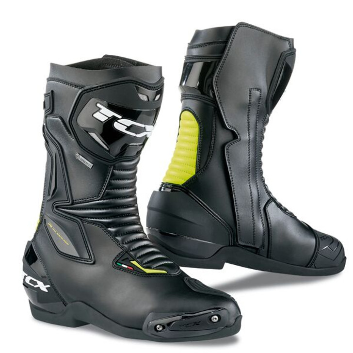 TCX SP-Master Gore-tex Boots - Black / Yellow