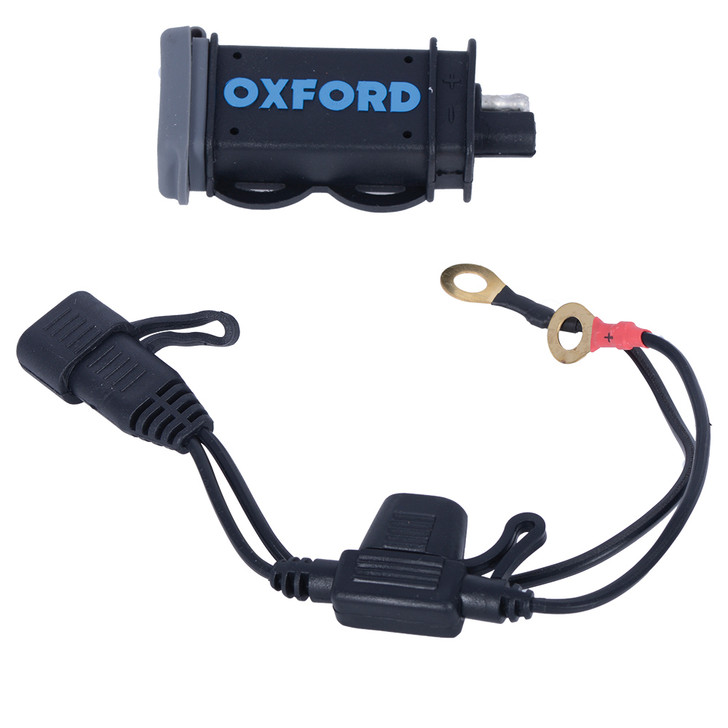 Oxford USB 2.1Amp Fused power charging kit