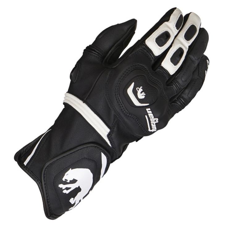 Furygan Higgins Gloves - Black / White