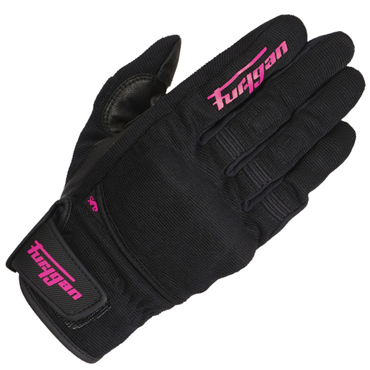 Furygan Jet D3O Lady Gloves - Black / Pink
