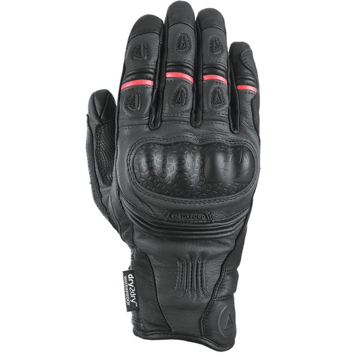 Oxford Mondial Short Waterproof Gloves - Tech Black
