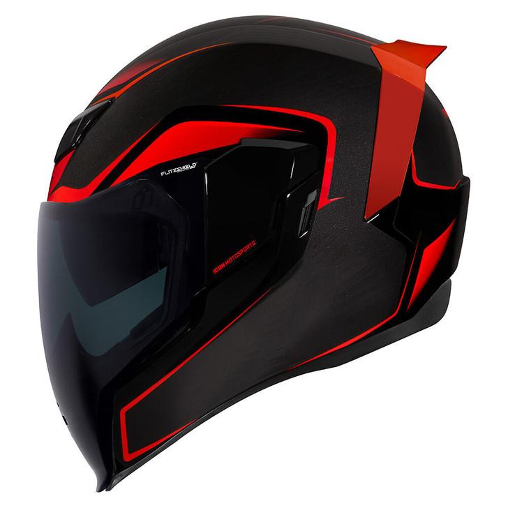 Icon Airflite Crosslink Helmet - Red