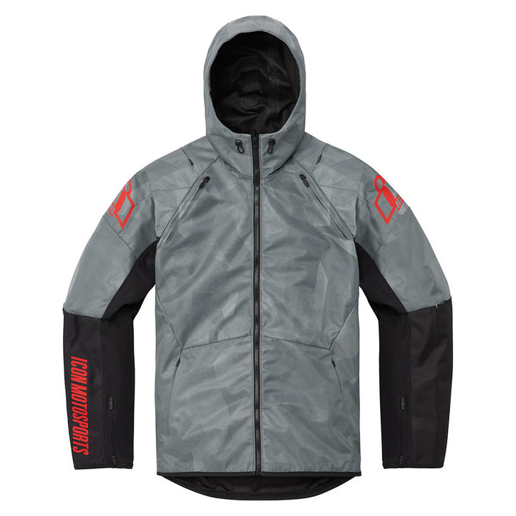 Icon Airform Battlescar Jacket - Grey