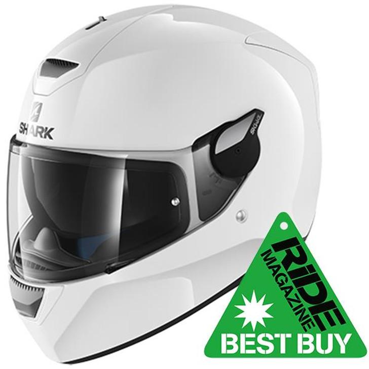 Shark D-Skwal 2 Helmet - White