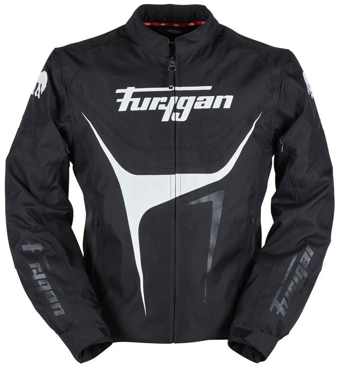 Furygan Oggy Jacket - Black / White