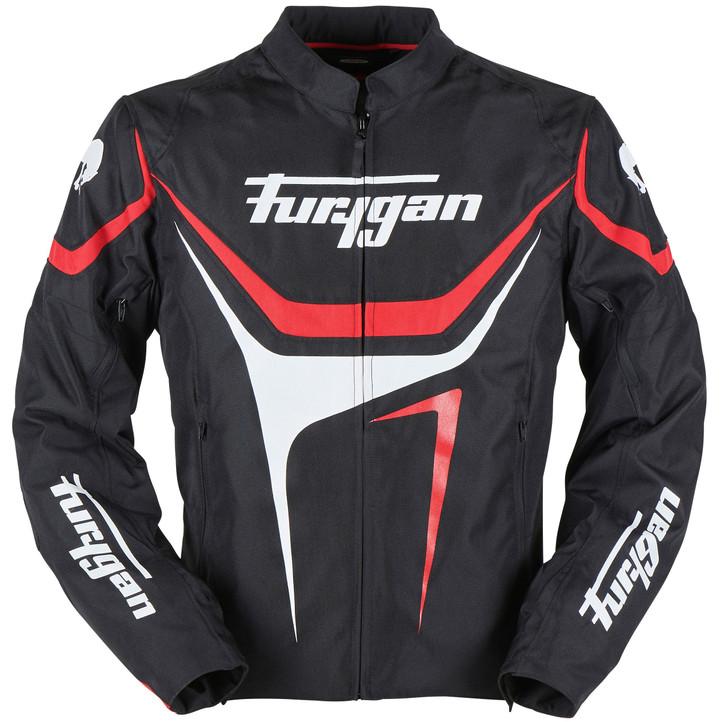 Furygan Oggy Jacket - Black / Red