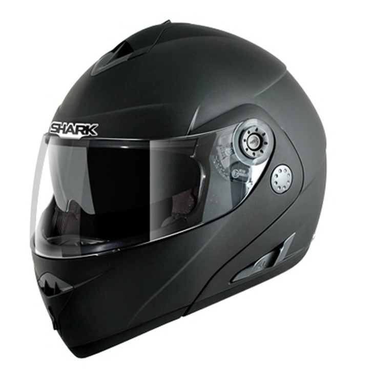 Shark Openline Helmet - Matt Black