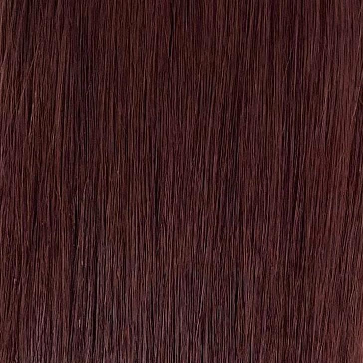 Close up of 20 Inch Nanolink Extension in 4R Medium Reddish Brown